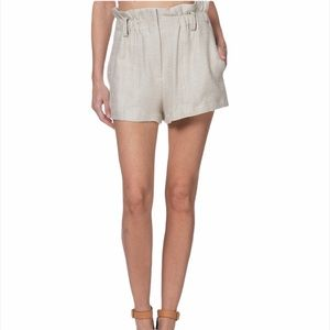 IRO Asty Paperbag High Waisted Shorts